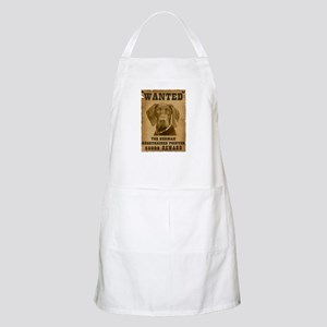 """""""Wanted"""" German Shorthaired Pointer BBQ Apron"""