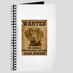 """Wanted"" German Shorthaired Pointer Journal"