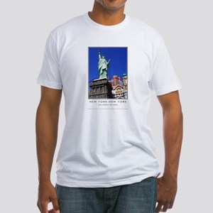 New York-New York S38a Fitted T-Shirt