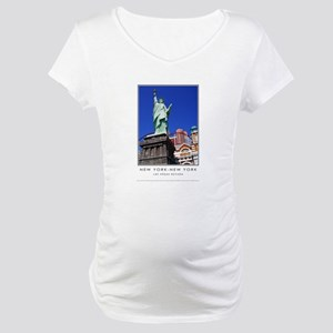 New York-New York S38a Maternity T-Shirt
