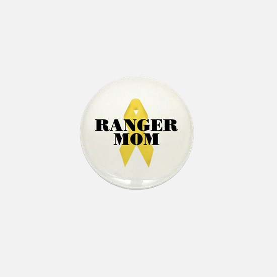 Ranger Mom Ribbon Mini Button