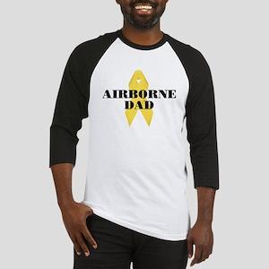 Airborne Dad Ribbon Baseball Jersey