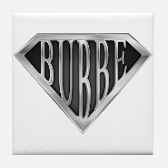 SuperBubbe(metal) Tile Coaster