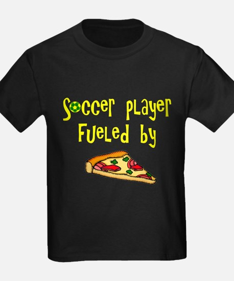 Soccer player fueled by pizza T
