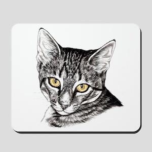 Penciled Tabby Mousepad
