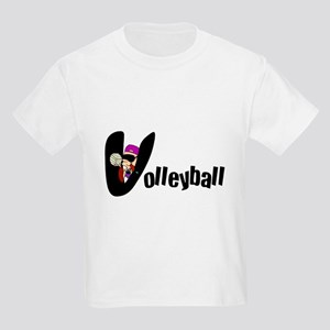 Kid's Volleyball Kids Light T-Shirt