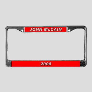 John McCain License Plate Frame-3