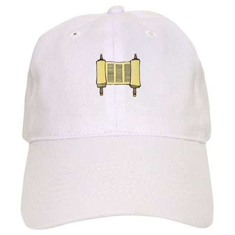 Torah Scrolls Cap