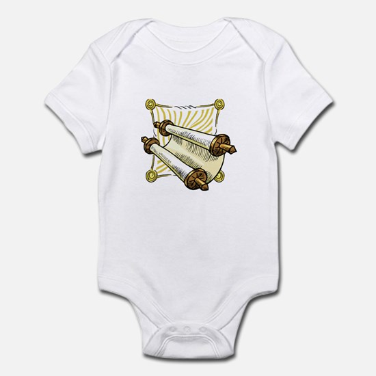 Torah Scrolls Infant Bodysuit