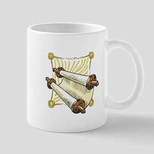 Torah Scrolls Mug