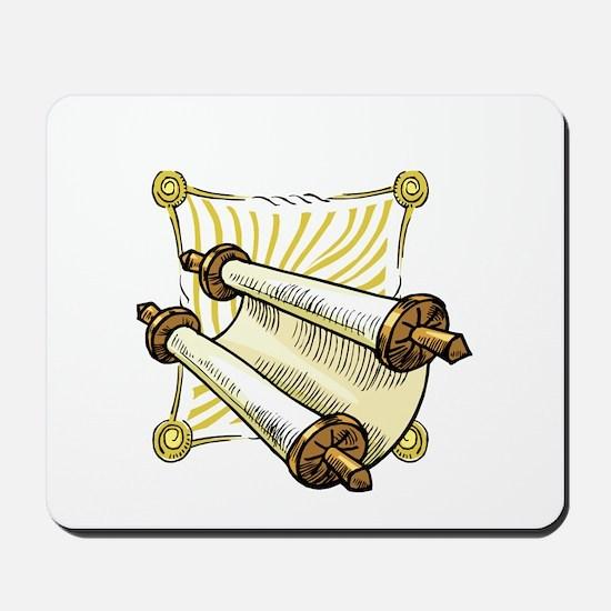 Torah Scrolls Mousepad
