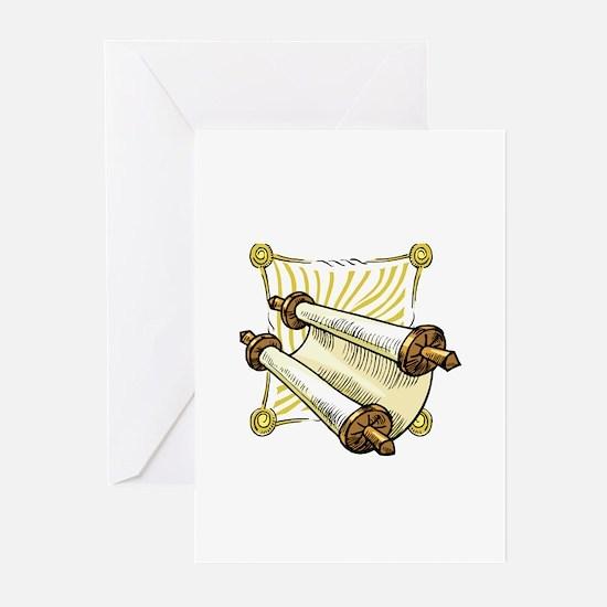 Torah Scrolls Greeting Cards (Pk of 20)