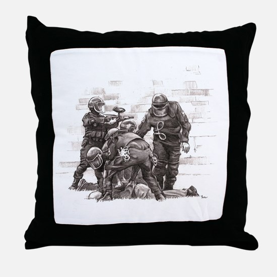 Rec Yard Throw Pillow