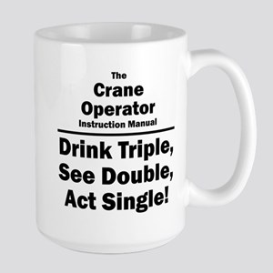 Crane Operator Large Mug