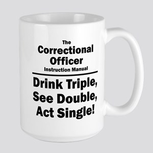 Correctional Officer Large Mug