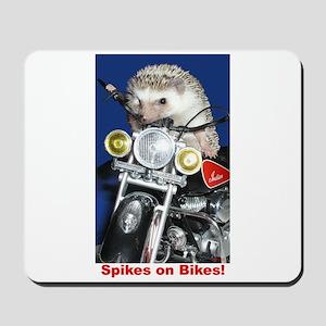 Spikes on Bikes! Mousepad