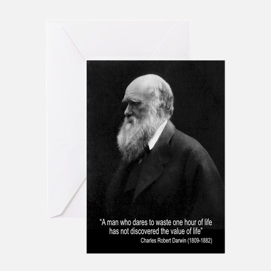 Charles Darwin Quotes Greeting Card
