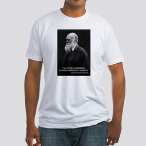 Charles Darwin Quotes Fitted T-Shirt