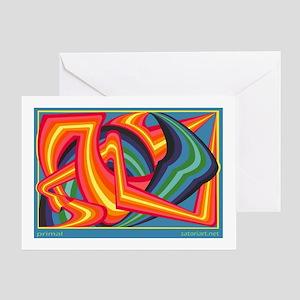 Primal (a) Greeting Card
