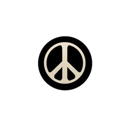 The Classic Peace Symbol Mini Button (10 Pack)