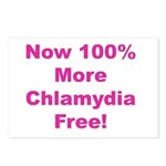 Chlamydia Free Postcards (Package of 8)