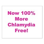 Chlamydia Free Small Poster