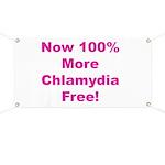 Chlamydia Free Banner