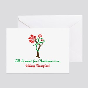 Christmas Wish Kidney Greeting Card