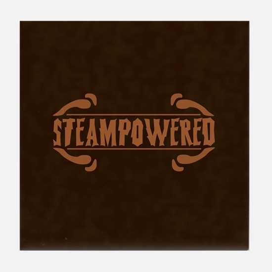 Steampowered Tile Coaster