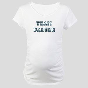 Team Badger Maternity T-Shirt