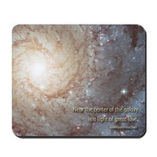 """Center Of The Galaxy"" Mouse Pad Mousepa"