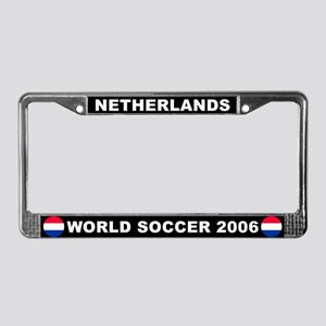 Netherlands/Holland License Plate Frame