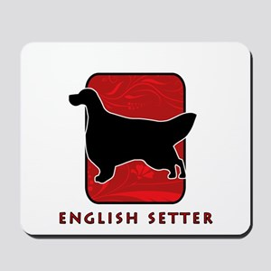 English Setter Mousepad