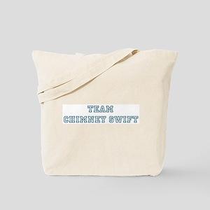Team Chimney Swift Tote Bag