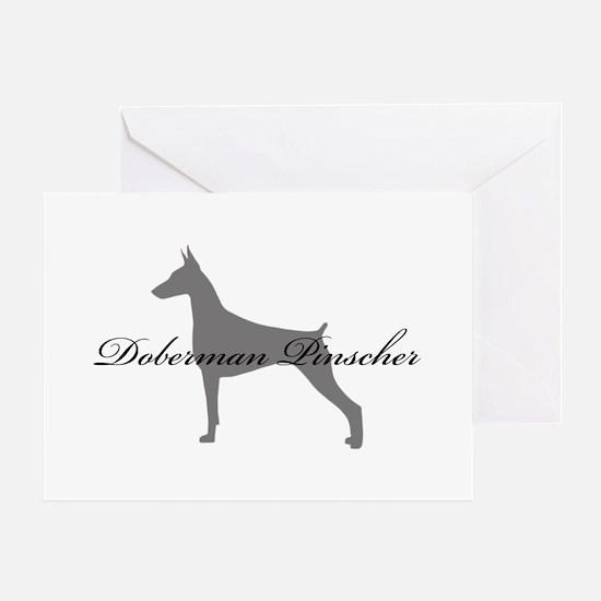 Doberman Pinscher Greeting Card