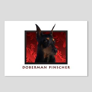 Doberman Pinscher Postcards (Package of 8)