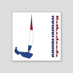Sailing Netherlands Sticker