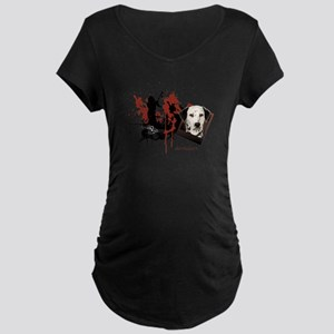 Dalmatian Maternity Dark T-Shirt