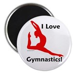Gymnastics Magnets (10) - Love