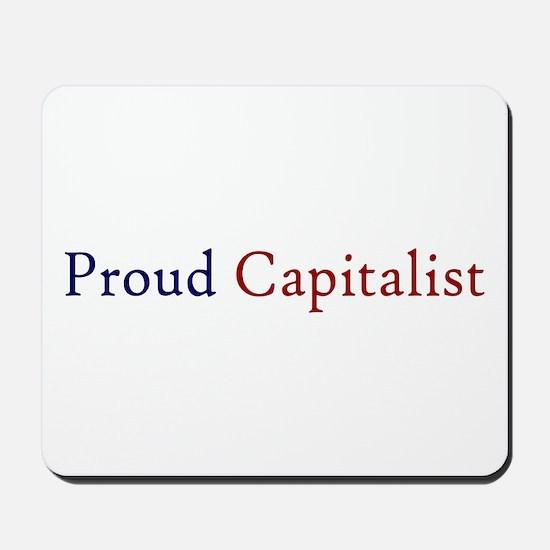 Proud Capitalist pro-capitalism Mousepad