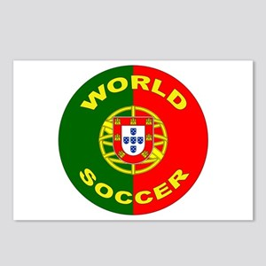 Portugal World Cup Soccer Postcards (Package of 8)