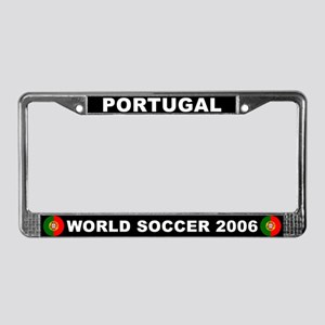 Portugal World Cup Soccer License Plate Frame