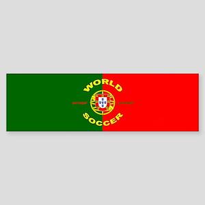 Portugal World Cup Soccer Bumper Sticker