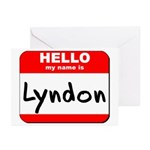 Hello my name is Lyndon Greeting Cards (Pk of 20)