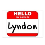 Hello my name is Lyndon Postcards (Package of 8)