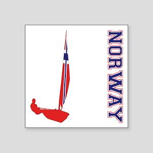Sailing Norway Sticker