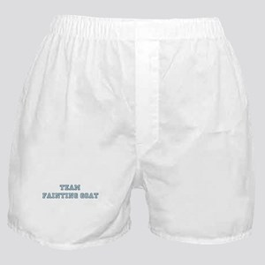Team Fainting Goat Boxer Shorts