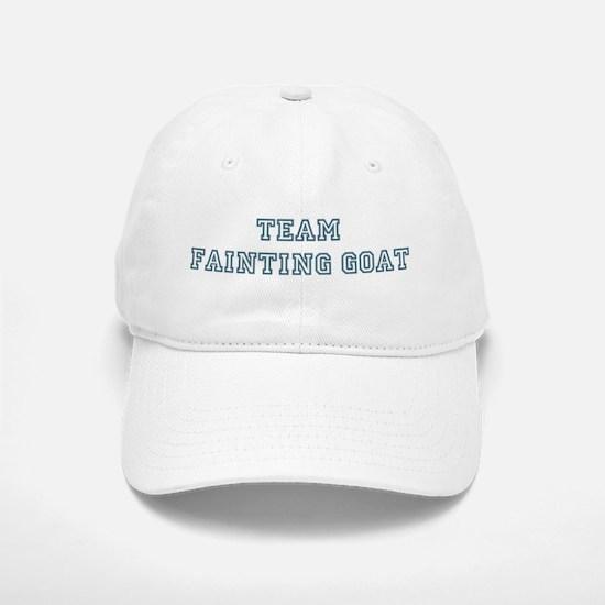 Team Fainting Goat Baseball Baseball Cap