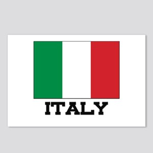 Italy Flag Postcards (Package of 8)