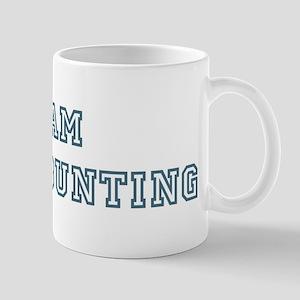 Team Indigo Bunting Mug